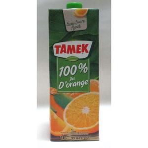 TAMEK タメック100%オレンジジュース 濃縮還元 1000mlx12 1ケース |awaji-gourmet