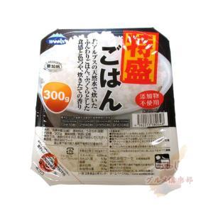 添加物不使用 国産 特盛りごはん 300g 24個 1ケース|awaji-gourmet