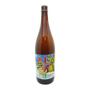 徳島県産 ゆず酢 1800ml 瓶 1本