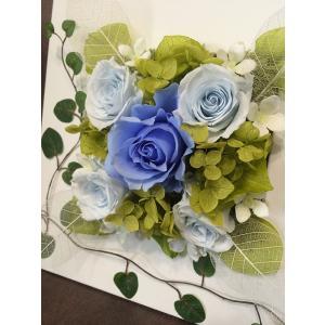 プリザーブドフラワーのアレンジメントで母の日 誕生日などのお祝い プレゼント 記念日に最適の贈り物 ※専用クリアケース付|awaji-waka|02