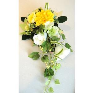 カベフルーリ パイナップルイエロー 安全で簡単に部屋に花を飾れる「大改造!!劇的ビフォーアフター」の匠デザイン監修【アタッチメントつき】|awaji-waka