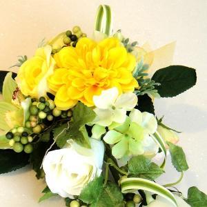カベフルーリ パイナップルイエロー 安全で簡単に部屋に花を飾れる「大改造!!劇的ビフォーアフター」の匠デザイン監修【アタッチメントつき】|awaji-waka|02