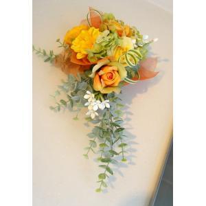 カベフルーリ キャロットオレンジ 安全で簡単に部屋に花を飾れる「大改造!!劇的ビフォーアフター」の匠デザイン監修【アタッチメントつき】|awaji-waka