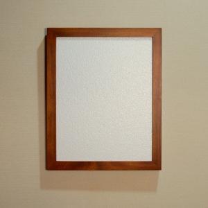 F6サイズ仮縁油絵額 淡路島の額縁職人が全て手作業で製作した純国産の木製の仮縁油絵額(チーク仕上げ)|awajigaku