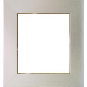 額縁 色紙額4860 シルバー /ガラス付き/木製/8×9寸/273×242mm|awajigaku