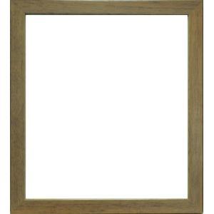 額縁 色紙額5768 グレー /歩8/ガラス付き/木製/8×9寸/273×242mm|awajigaku
