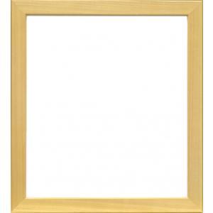 額縁 色紙額5768 木地 /歩8/ガラス付き/木製/8×9寸/273×242mm|awajigaku