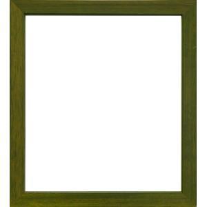 額縁 色紙額5768 オリーブ /歩8/ガラス付き/木製/8×9寸/273×242mm|awajigaku