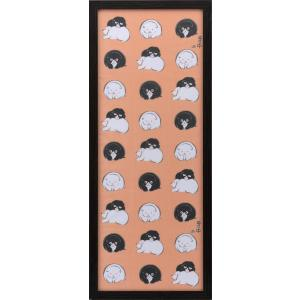 額縁 手ぬぐい額 ブラック (890×340) 1mm低反射PET仕様 5901|awajigaku