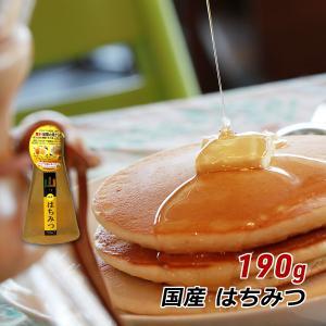 蜂蜜 国産 純粋 はちみつ 非加熱 山のはちみつ 190g 無添加 ペット容器 ハチミツ レターパックプラス 送料無料|awajikodawari