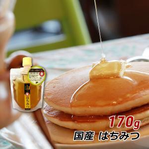 非加熱 蜂蜜 国産 純粋 山のはちみつ 170g 詰替タイプ 福岡県産 はちみつおいしい|awajikodawari