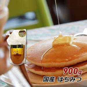 非加熱 蜂蜜 国産 純粋 山のはちみつ 900g お徳用 詰替タイプ 福岡県産 蜂蜜 ハチミツ 純粋 お取り寄せ ヒグチ園 メール便 送料無料 はちみつおいしい|awajikodawari