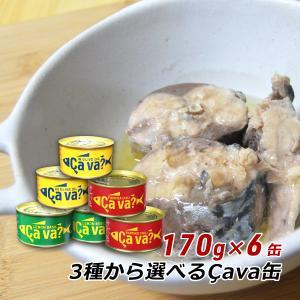 岩手県産 選べる国産さば缶詰 170g×6缶 サヴァ缶 Ca...