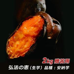 さつまいも 安納芋 弘法の恵 2kg 贈答用 ギフト さんわ農夢 香川県 サツマイモ 薩摩芋 さつま芋 蜜芋 みつ芋 生芋 熟成芋 送料込 ネプリーグ|awajikodawari