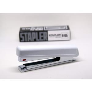 郵便での配送も可能です。STAPLER N-105 白色 ホッチキス ライオン事務器 ステープラー