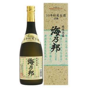 泡盛 沖縄県酒造協同組合/ 海乃邦 ソフト 10年古酒 25度,720ml
