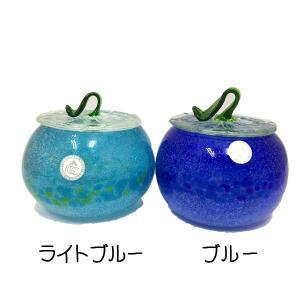 泡カレット菓子入れ:琉球ガラス工房 グラス  琉球ガラス  沖縄ギフト  沖縄お土産|awamori-zizake