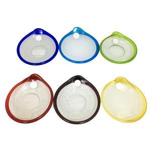 泡丸鉢S 6色 グラス  琉球ガラス  沖縄ギフト  沖縄お土産|awamori-zizake