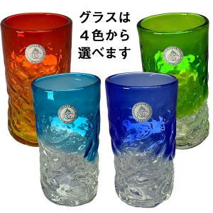 オリオンビール350ml 2缶&琉球ガラスセット 沖縄 オリオンビール ギフト ご贈答 お中元 御歳暮|awamori-zizake|02