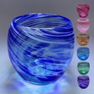 琉球ガラス:美ら海たるグラス(全7色):源河源吉 P15Aug15|awamori-zizake