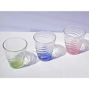 琉球ガラス:夏モールグラス(全3色):源河源吉|awamori-zizake
