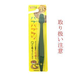 ハブハブラシ2色(金、緑) 歯磨き  沖縄ギフト  沖縄お土産  ペア|awamori-zizake