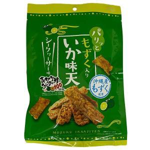 もずく入り いか味天 シークヮーサー味|awamori-zizake