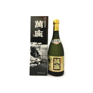 萬座ブラック古酒43度720ml 沖縄  泡盛|awamori-zizake