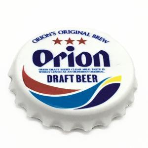 オリオンビール オリオン王冠型マグネット付き栓抜き 沖縄限定  沖縄土産|awamori-zizake