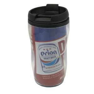 オリオンビール オリオン プラビアカップ(赤) タンブラー  沖縄限定  沖縄土産|awamori-zizake