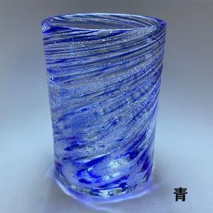 シェルクリアグラス(大)全9色【グラス】【琉球ガラス】【源河源吉】【沖縄ギフト】【沖縄お土産】|awamori-zizake|10