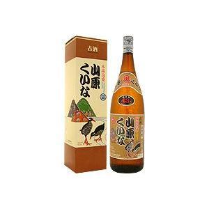 泡盛 山原くいな 古酒 43度 1800ml|awamoriclub