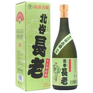 泡盛 北谷長老 13年古酒 25度 720ml|awamoriclub