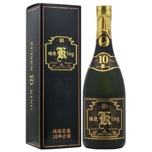 泡盛 瑞泉King Crown 10年古酒 30度 720ml|awamoriclub