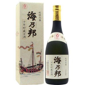 泡盛 海の邦 10年古酒 25度 720ml awamoriclub