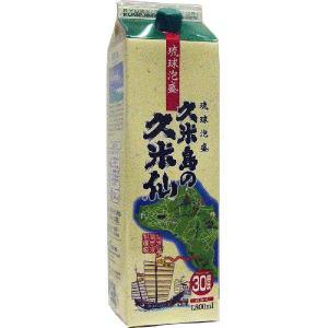 泡盛 紙パック 久米島の久米仙 30度 1800ml|awamoriclub