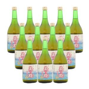 泡盛仕込み梅酒 美ら梅 13度 720ml×12本 awamoriclub