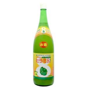 石川酒造 ヒラミ8泡盛リキュール 6度 1800ml|awamoriclub