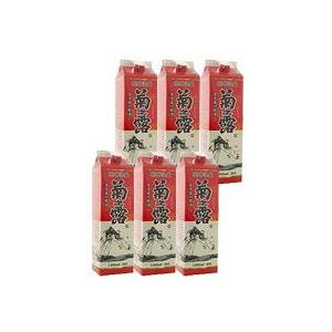 泡盛 紙パック 菊の露 30度 1800ml×6本|awamoriclub