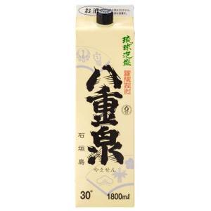 泡盛 紙パック 八重泉 30度 1800ml|awamoriclub