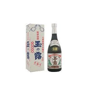 泡盛 玉の露 銀ラベル 古酒 30度 720ml|awamoriclub