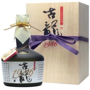 泡盛 古龍 限定古酒1986年(28年古酒)40度 720ml|awamoriclub