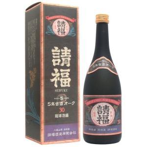 請福オーク5年古酒 30度 720ml|awamoriclub
