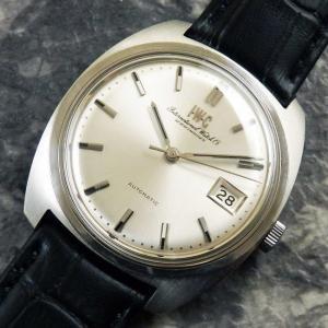 IWC オールドインター 筆記体ロゴ Cal.8541B/ペラトン式自動巻 1969年 アンティーク 時計