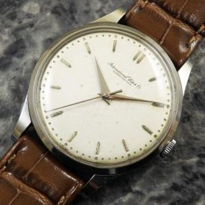 IWC オールドインター ノンデイト Cal.89 1959年 アンティーク時計 手巻き