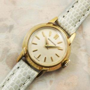 モバード MOVADO ラウンド アンティーク時計 レディース 1940年代 腕時計