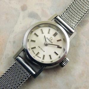 OMEGA・オメガ レディース アンティーク時計 ラウンドタイプ オリジナルブレス 1970年
