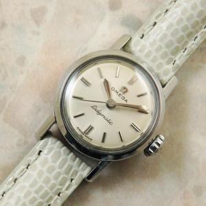 OMEGA Ladymatic アンティーク 腕時計 1962年 自動巻 オメガ レディーマチック:]