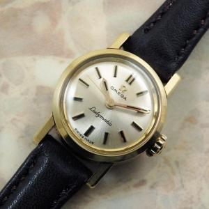 OMEGA Ladymatic アンティーク 腕時計 18KYG 金無垢 1961年 自動巻き レディーマティック:]