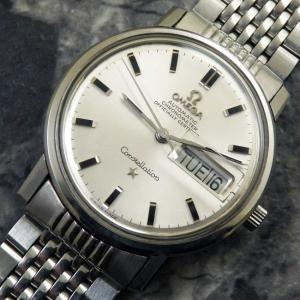 OMEGA(オメガ) コンステレーション 自動巻クロノメーター 純正ブレス Ref.168-016 ラウンド 箱 ギャラ付 1970年 アンティーク 時計